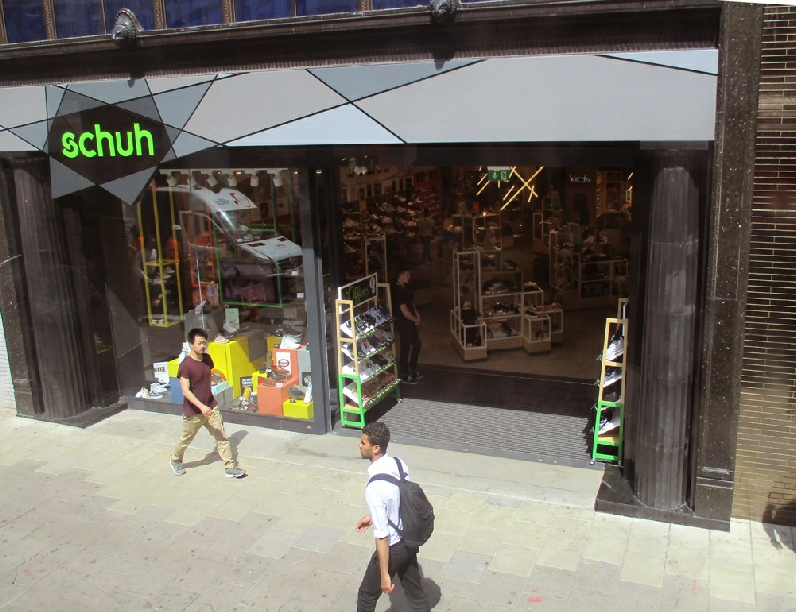 Schuh store on London's Oxford Street