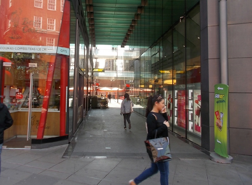 Sedley Place off Oxford Street in London