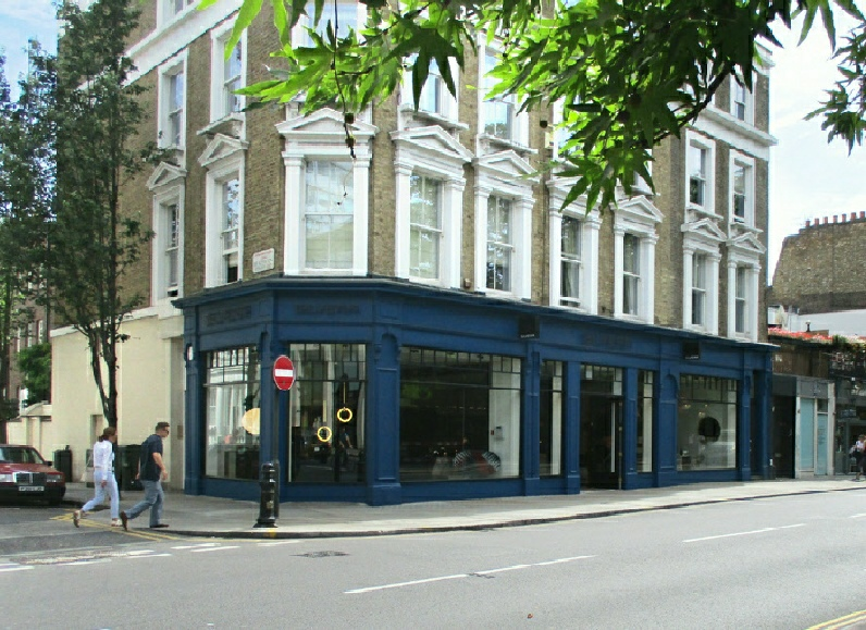 Silvera furniture shop on KIng's Road in London's Chelsea.