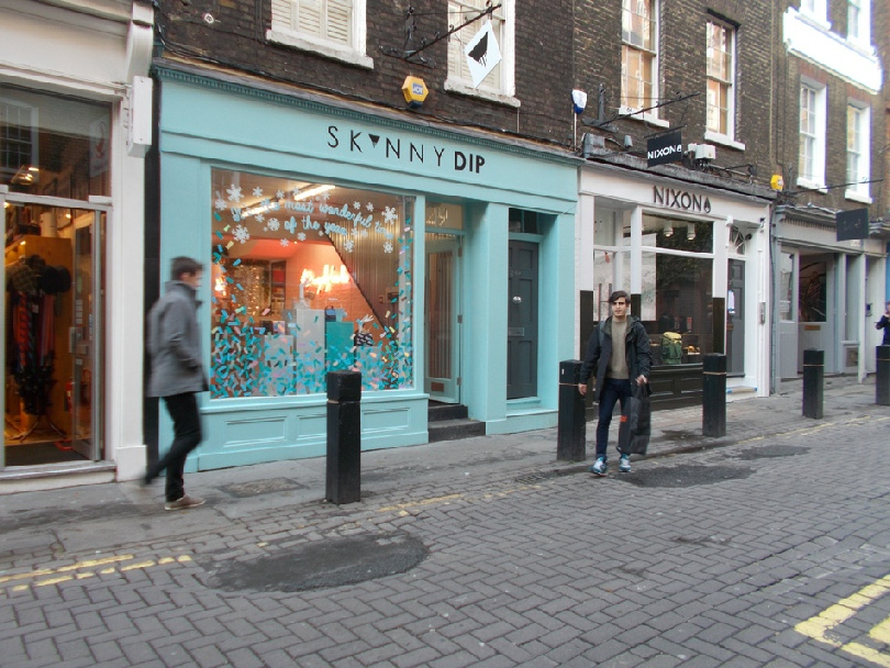 Skinny Dip phone case shop in London's Covent Garden