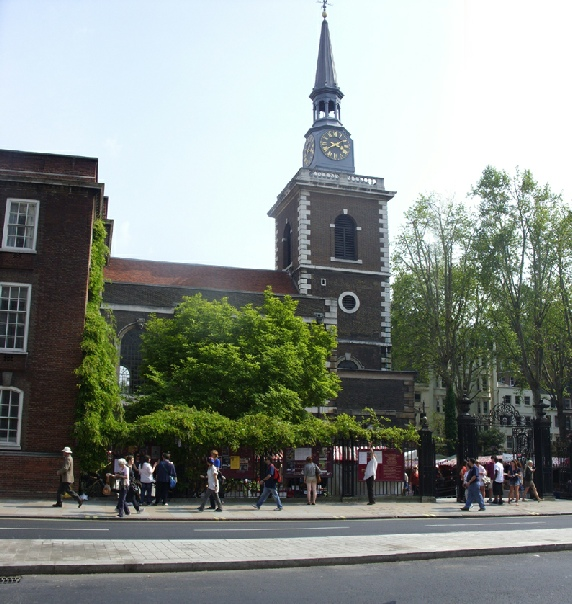 St James's Church on London's Piccadilly