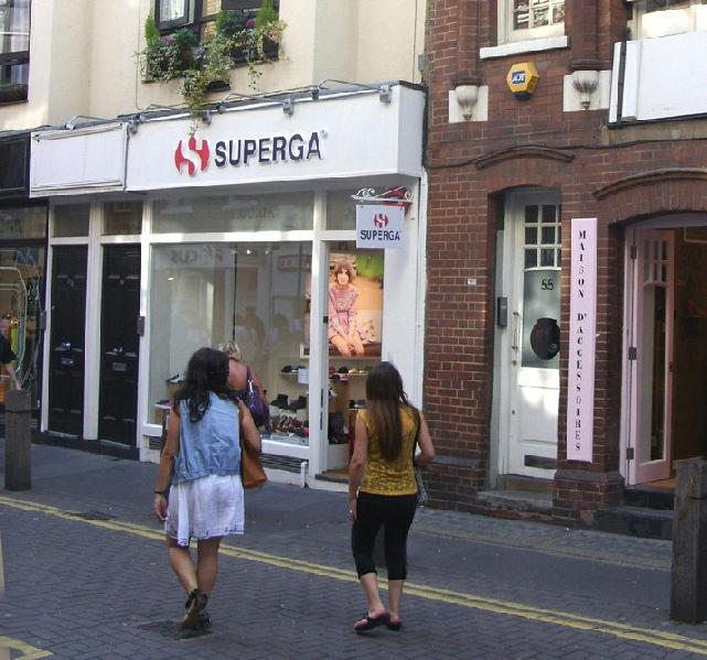 Superga on Neal Street