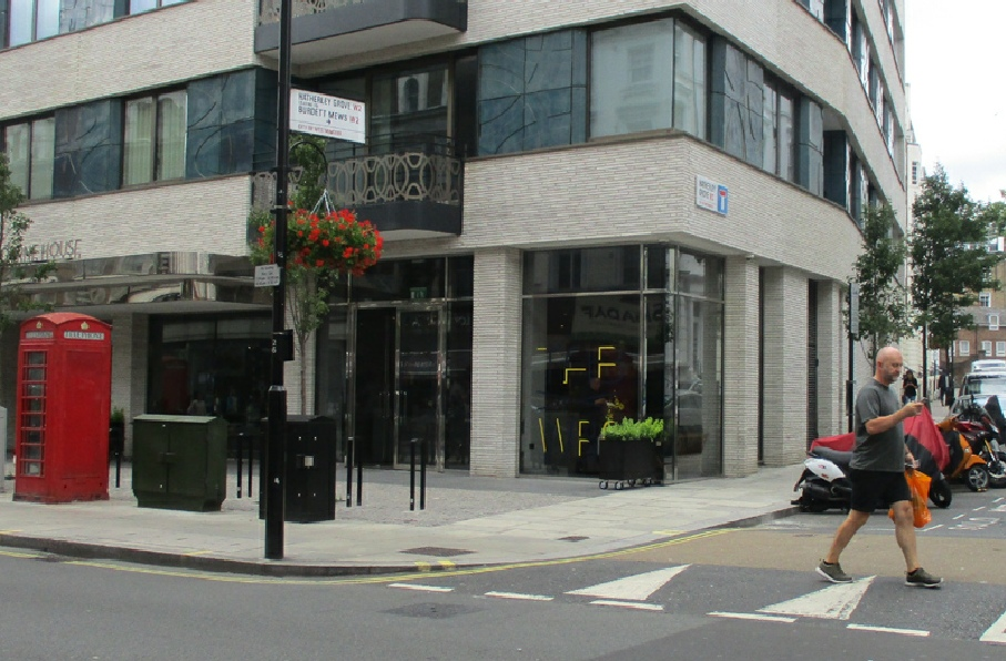 Tab-x-Tab coffee lounge on Westbourne Grove in Bayswater
