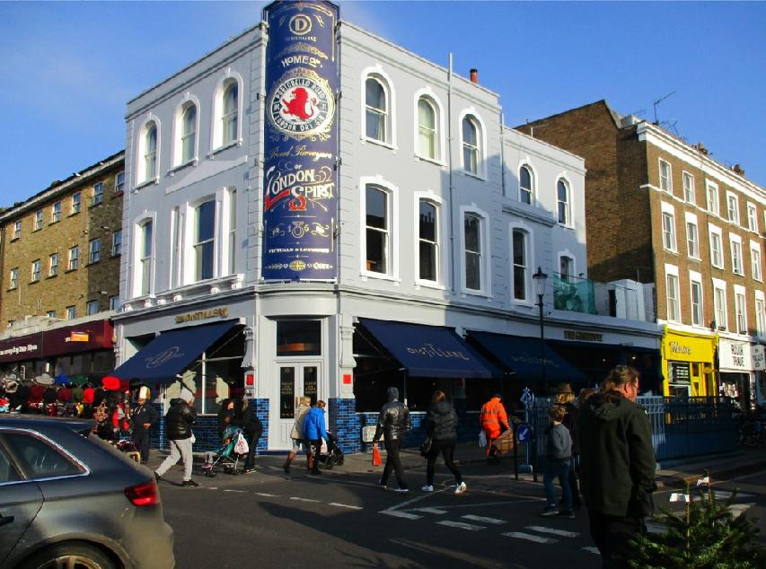 The Distillery and Ginstitute on Portobello Road in London