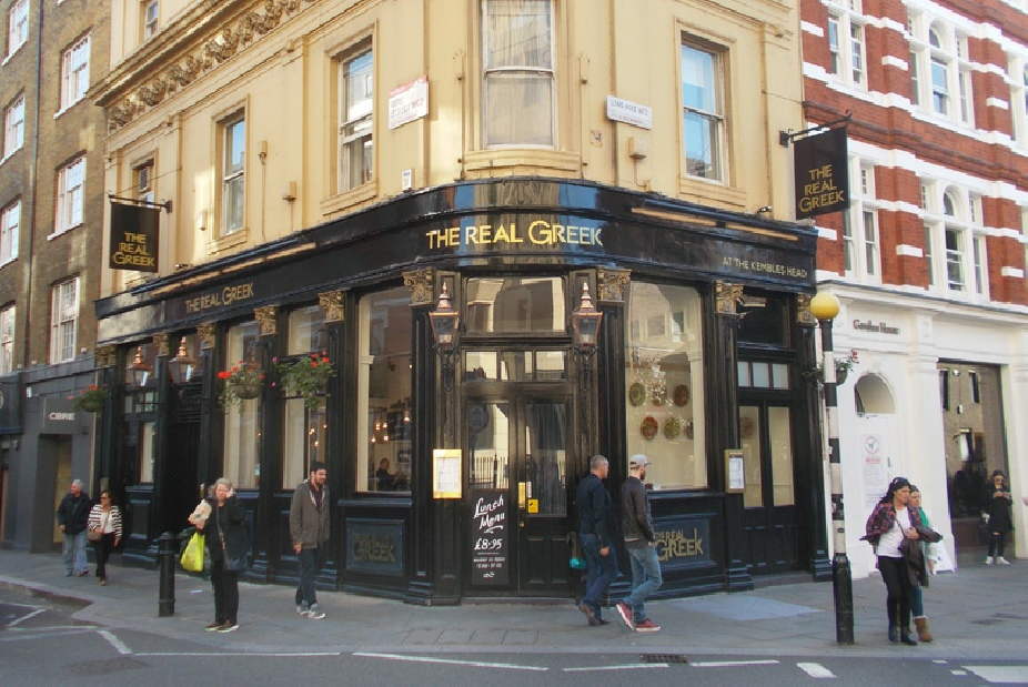 The Real Greek restaurant Covent Garden