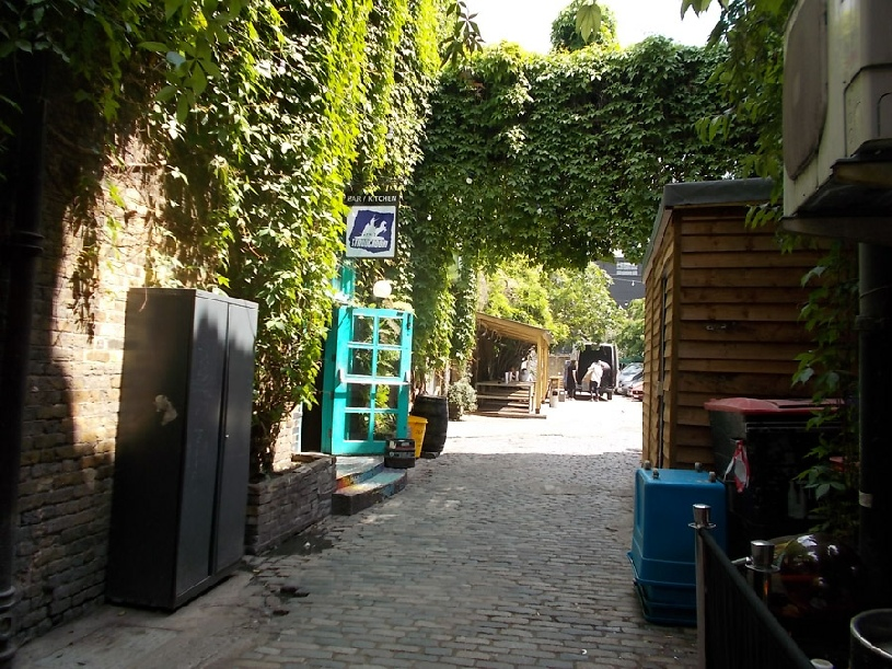 The Strongroom bar and kitchen in London's Shoreditch