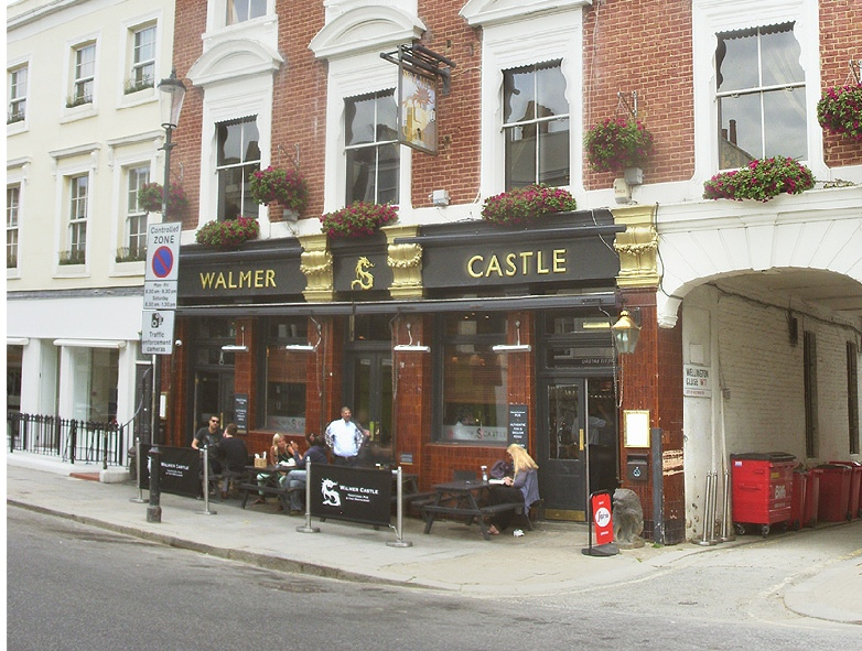 The Walmer Castle pub in London's Notting Hill