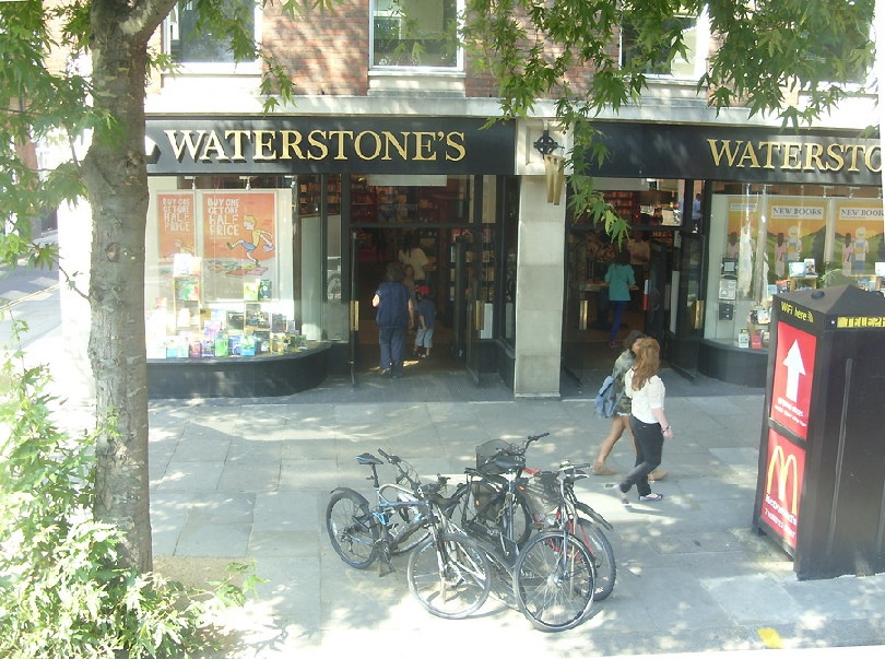 Waterstones bookshop in London's Chelsea