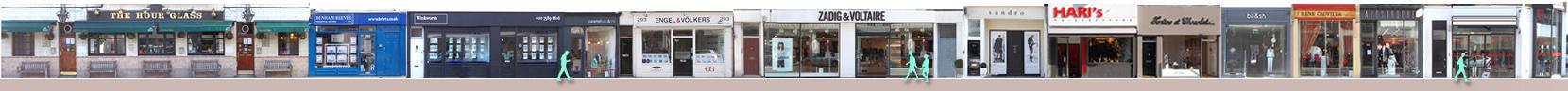 Shops at Brompton Cross