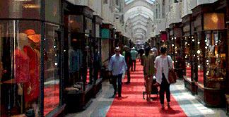Burlington Arcade on Piccadilly in London