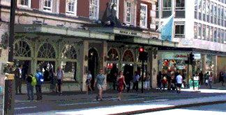 Fortnum and Mason store on Piccadilly in London
