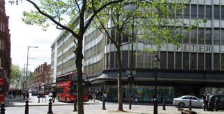 Peter Jones department store at Sloane Square in London's Chelsea