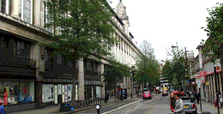 Whiteleys building on Queensway in London's Bayswater