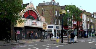 Screen cinema on Upper Street in London's Islington