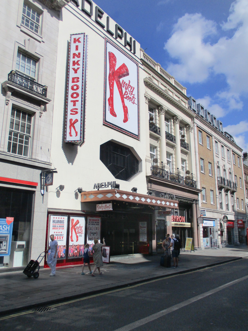 The Adelphi Theatre in London