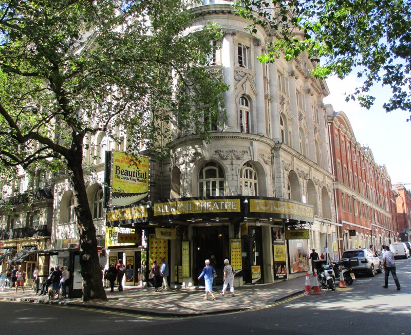 Aldwych theatre in London