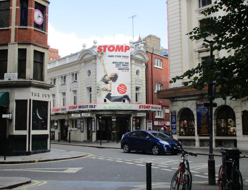 Ambassadors theatre in London