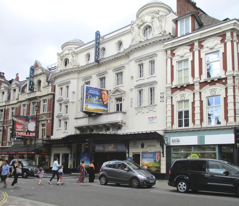Apollo theatre in London