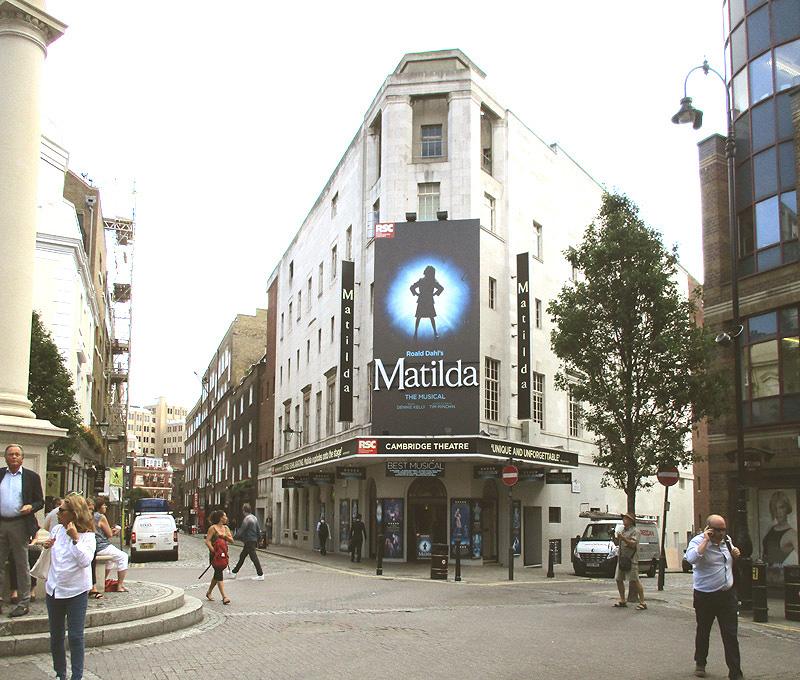 Cambridge theatre in London