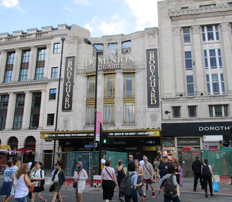 Dominion theatre in London