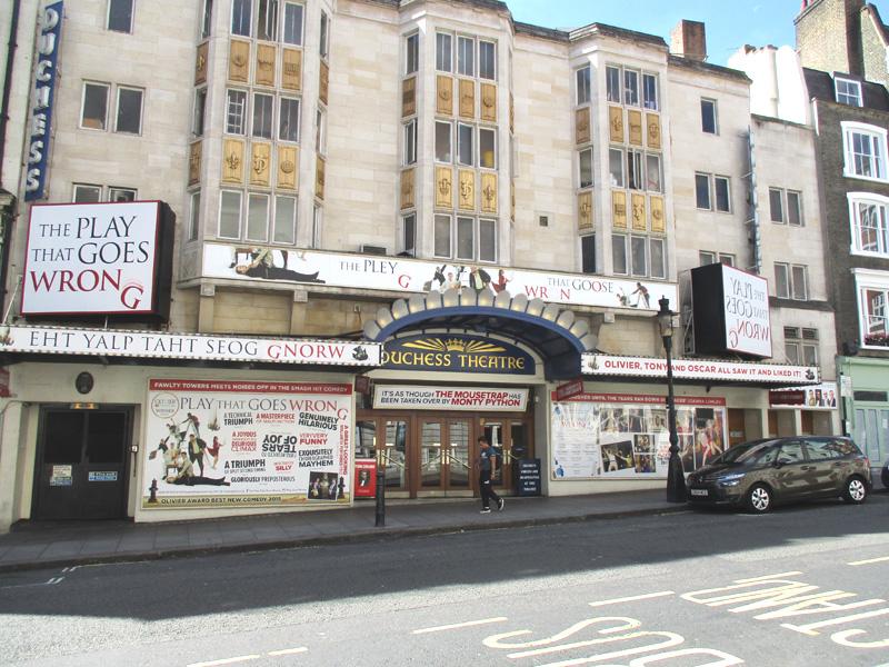 Duchess theatre in London
