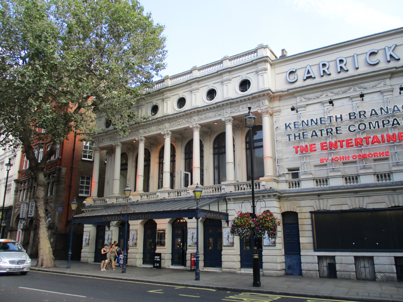Garrick theatre in London