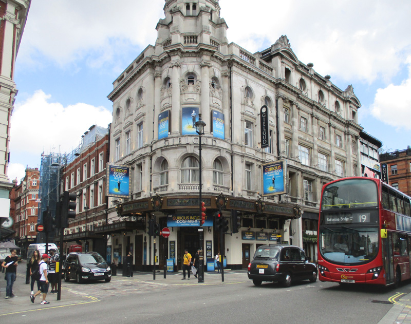 Gielgud theatre in London