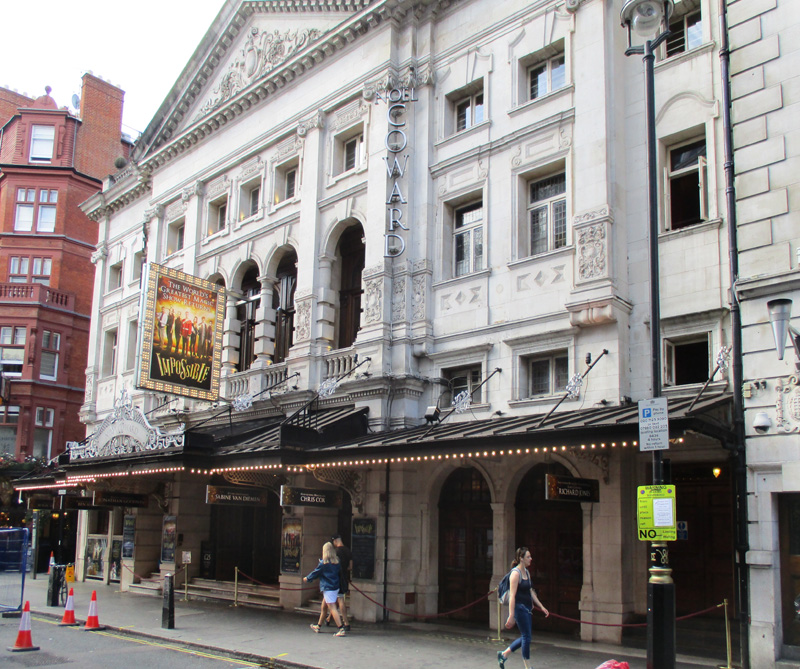 Noel Coward theatre in London