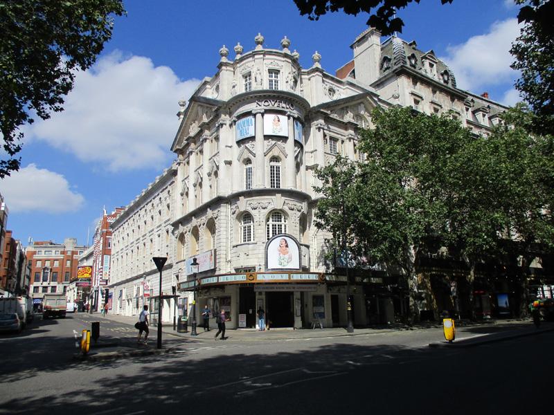 Novello theatre in London