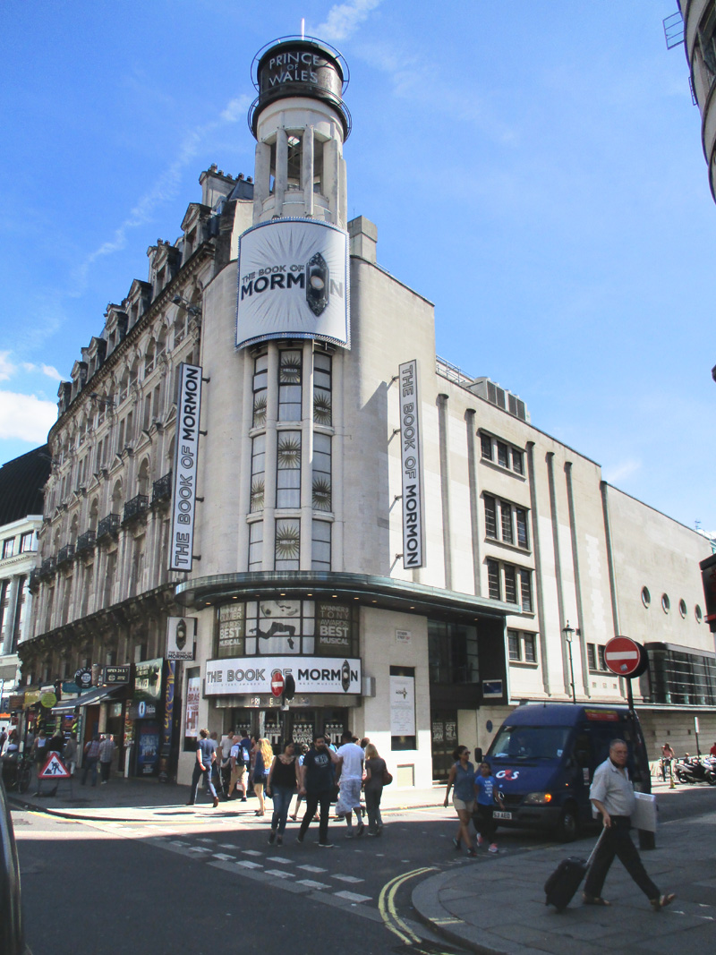 Prince of Wales theatre in London