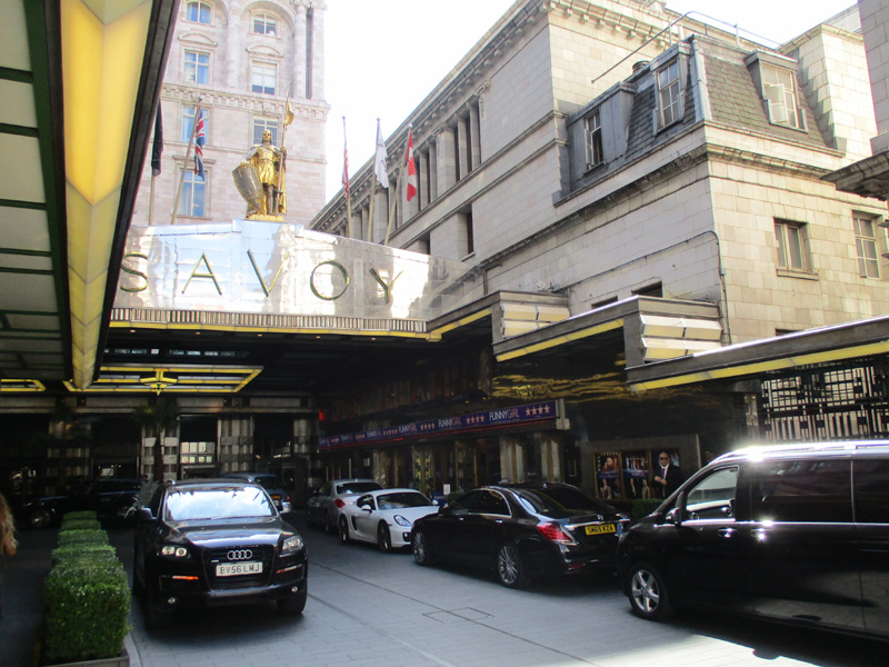 Savoy theatre in London