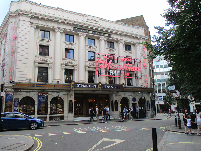 St. Martins theatre in London