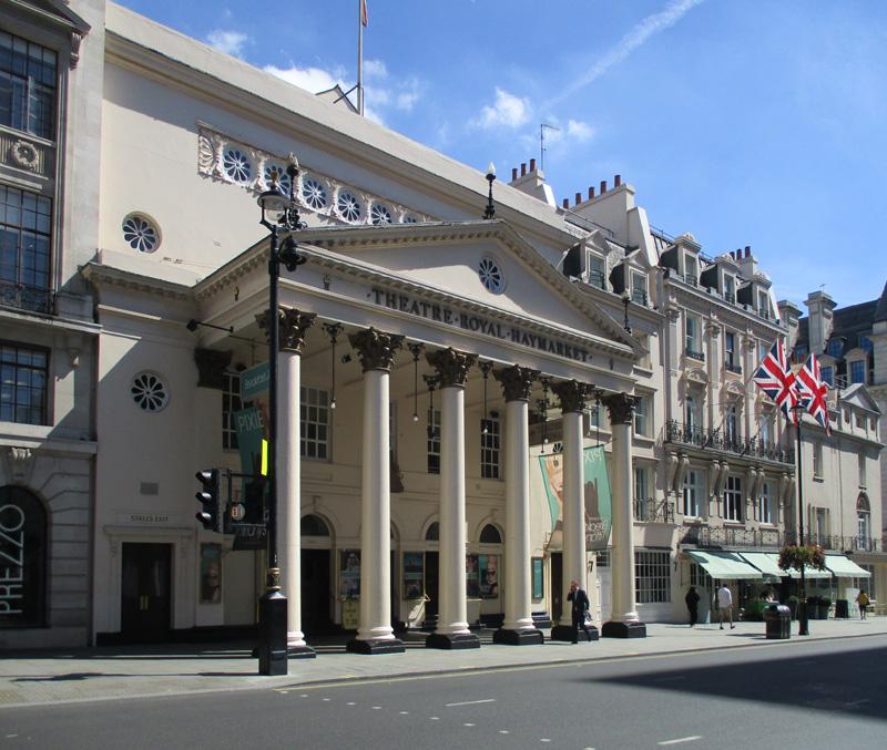 Theatre Royal Haymarket in London