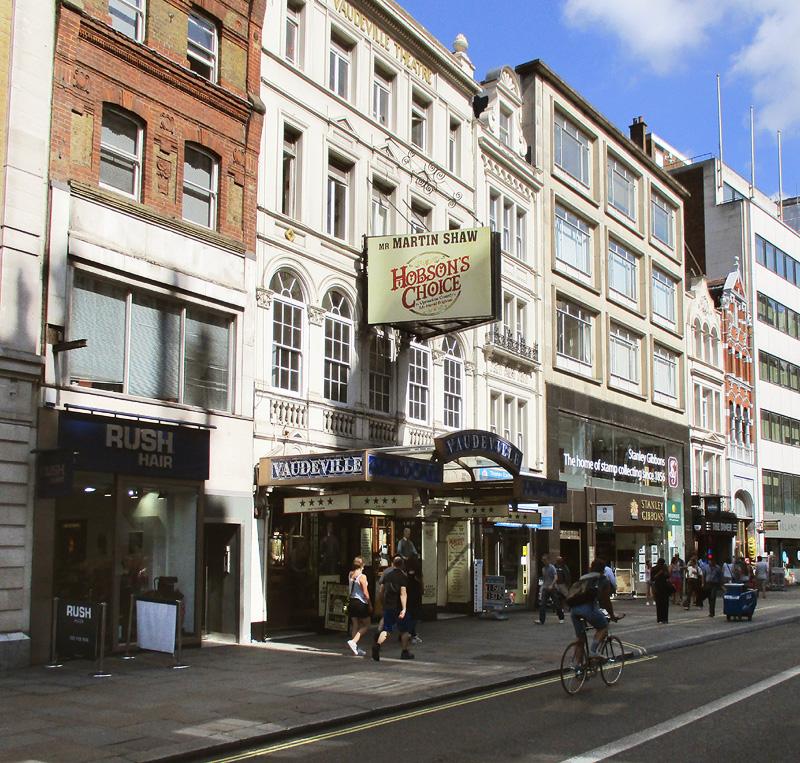 Vaudeville theatre in London