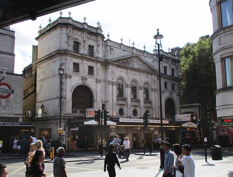 Wyndhams theatre in London